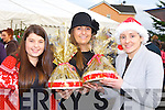 Clodagh, Mary Anne and Patricia Teahan Dooks enjoying the Firies Christmas Craft Fair on Sunday