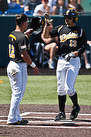 Ryan Jones (13) April 10th, 2010; Southern Illinois vs Wichita State University at Eck Stadium in Wichita, Ks. Photo by: William Purnell/Four Seam Images