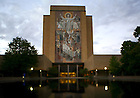 Hesburgh Library Mural