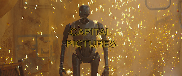 Rogue One: A Star Wars Story (2016)<br /> K-2SO (Alan Tudyk).<br /> *Filmstill - Editorial Use Only*<br /> CAP/KFS<br /> Image supplied by Capital Pictures