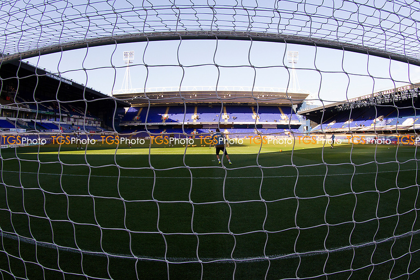 An unusual view towards the Sir Bobby Robson Stand during Ipswich Town vs Preston North End, Sky Bet EFL Championship Football at Portman Road on 3rd November 2018