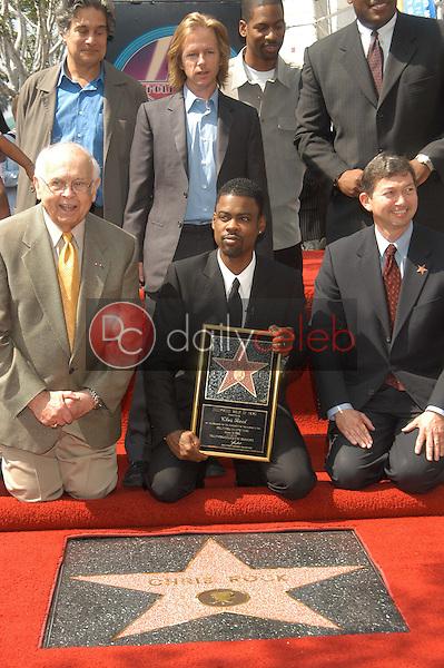 Chris Rock receives his star