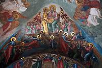 Russia,Moscow,Novospassky Monastery,New Savior Monastery,Transfiguration Cathedral,1640s