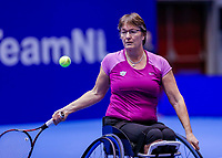 Rotterdam, Netherlands, December 12, 2017, Topsportcentrum, Ned. Loterij NK Tennis, Wheelchair Marlise Peters (NED)<br /> Photo: Tennisimages/Henk Koster