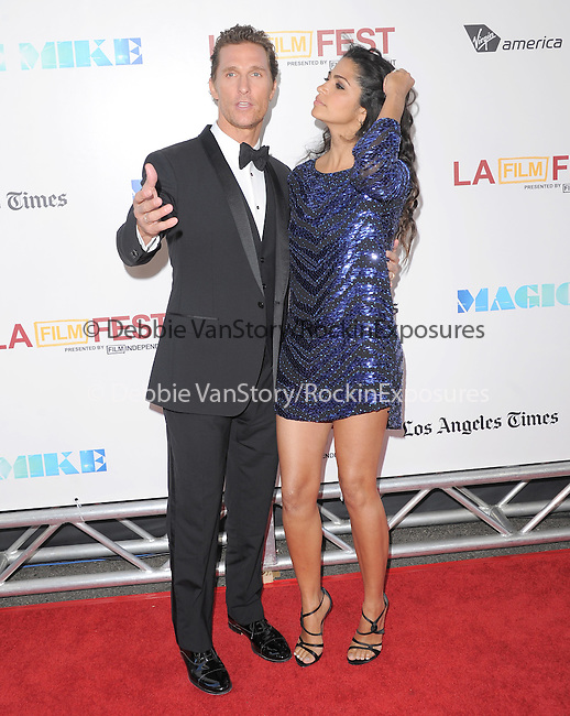 Matthew McConaughey and Camila Alves McConaughey at The Warner Bros. Pictures World Premiere and Closing night of The Los Angeles Film Festival  held at   The Regal Cinemas L.A. LIVE Stadium 14 in Los Angeles, California on June 24,2012                                                                               © 2012 Hollywood Press Agency
