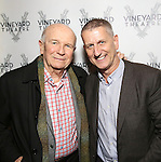 Terrence McNally and Tom Kirdahy attends the opening night performance of the Vineyard Theatre's 'Kid Victory' at the Vineyard Theatre on February 22, 2017 in New York City.