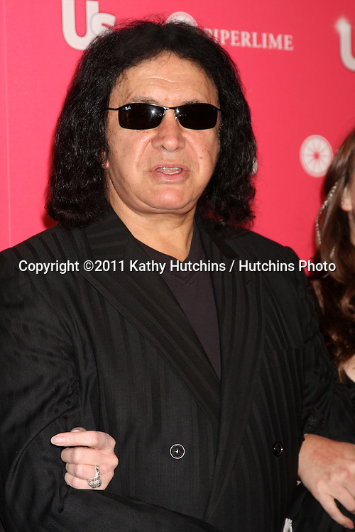 LOS ANGELES - APR 26:  Gene Simmons arriving at the 2011 US Weekly Hot Hollywood Style Event  at Eden on April 26, 2011 in Los Angeles, CA..
