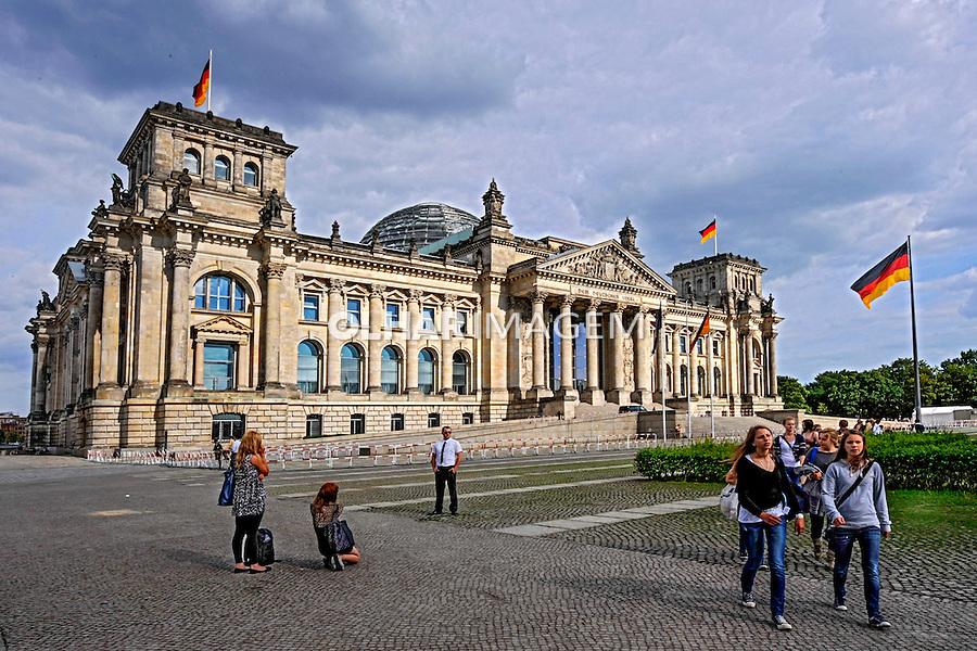 Edificio Palacio Reichstag. Berlin. Alemanha. 2011. Foto de Juca Martins.