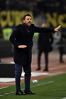 Eusebio Di Francesco of AS Roma reacts during the Serie A 2018/2019 football match between AS Roma and FC Internazionale at stadio Olimpico, Roma, December, 2, 2018 <br />  Foto Andrea Staccioli / Insidefoto