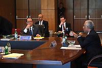 Harlem DÈsir - FranÁois Hollande - SOMMET DES PAYS DU SUD DE L'UNION EUROPEENNE