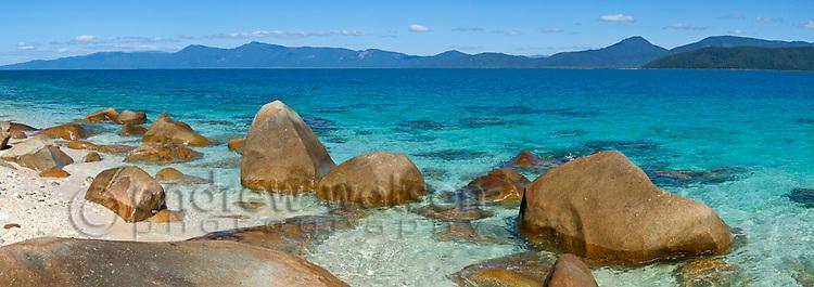 Nudey Beach.  Fitzroy Island National Park, Cairns, Queensland, Austtralia