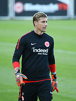 Torwart Jan Zimmermann (Eintracht Frankfurt) - 10.10.2018: Eintracht Frankfurt Training, Commerzbank Arena, DISCLAIMER: DFL regulations prohibit any use of photographs as image sequences and/or quasi-video.