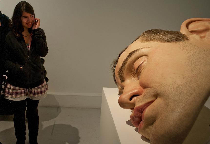 Ron Mueck exhibit San Idelfonso, Mexico City