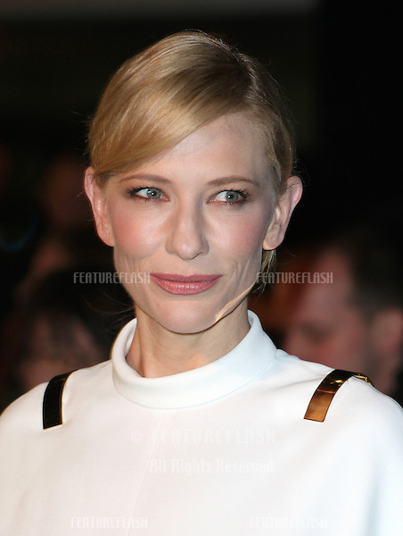 Cate Blanchett arriving for The hobbit Premiere, Odeon Leicester Square, London. 12/12/2012 Picture by: Alexandra Glen / Featureflash