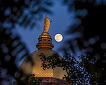 MC 6.7.17 Dome and Moon.JPG by Matt Cashore/University of Notre Dame