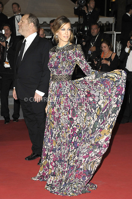 WWW.ACEPIXS.COM . . . . .  ..... . . . . US SALES ONLY . . . . .....May 13 2011, Cannes....Harvey Weinstein and Sarah Jessica Parker at the screening of 'Wu Xia' as part of the midnight screening at the Cannes Film Festival on May 13 2011 in Cannes, France....Please byline: FAMOUS-ACE PICTURES... . . . .  ....Ace Pictures, Inc:  ..Tel: (212) 243-8787..e-mail: info@acepixs.com..web: http://www.acepixs.com