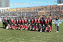 Oita team group,.JANUARY 7, 2012 - Football / Soccer :.Third placed Oita players pose for a team photo after the 90th All Japan High School Soccer Tournament semifinal match between Oita 1-2 Ichiritsu Funabashi at National Stadium in Tokyo, Japan. (Photo by Hiroyuki Sato/AFLO)