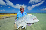 Brad Sodowick's Giant Trevally in Christmas Island