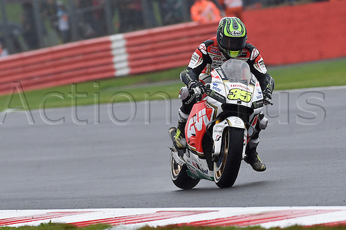 30.08.2015. Silverstone, Northants, UK. OCTO British Grand Prix. Cal Crutchlow (LCR Honda)  during the race.