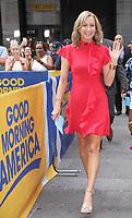 Lara Spencer Seen In NYC