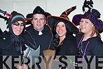 Catherine Kelleher, Eamon Moriarty, Joanne Gallagher and Nicola Healy looking spooky at the Knocknagoshel Halloween festival on Sunday   Copyright Kerry's Eye 2008