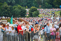 Massive crowds during the SAP Cup - CICO4*-S Nations Cup Eventing Cross Country. 2019 GER-CHIO Aachen Weltfest des Pferdesports. Saturday 20 July. Copyright Photo: Libby Law Photography