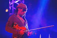 Boyd Tinsley (Violin) of The Dave Matthews Band Live in ROME at the Palalottomatica Arena, ROME, Italy on 20 October 2015. Photo by Valeria  Magri.