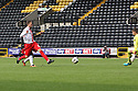 Robin Shroot of Stevenage shoots<br />  - Notts County v Stevenage - Sky Bet League One - Meadow Lane, Nottingham - 24th August 2013<br /> © Kevin Coleman 2013