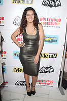 LOS ANGELES - JAN 10:  Amber Romero at the Batman '66 Retrospective and Batman Exhibit Opening Night at the Hollywood Museum on January 10, 2018 in Los Angeles, CA<br /> <br /> Batman '66 Retrospective and Batman Exhibit Opening Night, The World Famous Hollywood Museum, Hollywood, CA 01-10-18