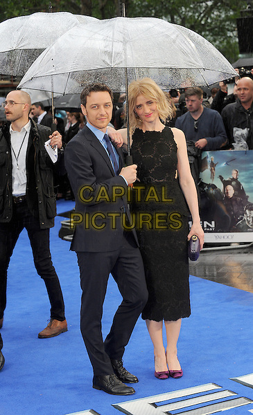 LONDON, ENGLAND - MAY 12:  James McAvoy and Anne-Marie Duff attend the UK Premiere of X-Men: Days Of Future Past at the Odeon Leicester Square on May 12, 2014 in London, England<br /> CAP/BEL<br /> &copy;Tom Belcher/Capital Pictures