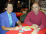 Eileen Kelly and Sean Moynihan at the bridge congress in the Westcourt Hotel..Picture Paul Mohan Newsfile