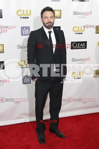 SANTA MONICA, CA - JANUARY 10: Ben Affleck at the 18th Annual Critics' Choice Movie Awards at Barker Hangar on January 10, 2013 in Santa Monica, California. Credit: mpi26/MediaPunch Inc. /NortePhoto /NortePhoto /NortePhoto /NortePhoto