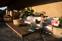 Annuska and Lola. Annuska, Felix and I in Federico Rigolettis weekend house near Valle de Bravo. Reserva el Peñon, Temascaltepec, Estado de Mexico