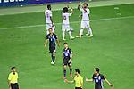 (U to D) <br /> Keisuke Honda, <br /> Shinji Kagawa (JPN), <br /> SEPTEMBER 1, 2016 - Football / Soccer : <br /> FIFA World Cup Russia 2018 Asian Qualifier <br /> Final Round Group B <br /> between Japan - United Arab Emirates <br /> at Saitama Stadium 2002, Saitama, Japan. <br /> (Photo by YUTAKA/AFLO SPORT)