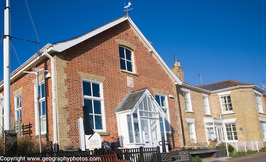 The historic Sailors' reading room museum at, Southwold, Suffolk, England