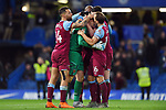 West Ham United goalkeeper David Martin celebrates at the end of the Premier League match at Stamford Bridge, London. Picture date: 30th November 2019. Picture credit should read: Robin Parker/Sportimage