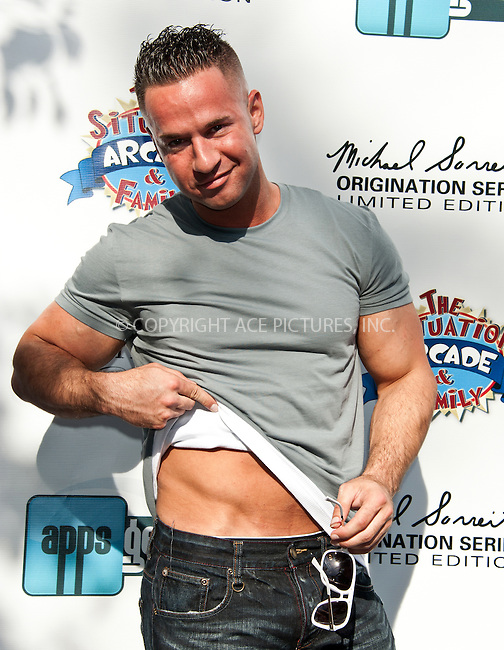 WWW.ACEPIXS.COM . . . . .  ..... . . . . US SALES ONLY . . . . .....May 13 2012, New Hope PA....Mike Sorrentino aka The Situation at the launch of The Situation 'Origination' series limited edition sunglasses at The Eye Shoppe on May 13 2012 in New Hope ....Please byline: FAMOUS-ACE PICTURES... . . . .  ....Ace Pictures, Inc:  ..Tel: (212) 243-8787..e-mail: info@acepixs.com..web: http://www.acepixs.com