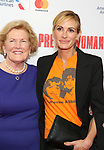 Barbara Marshall and Julia Roberts attends the Garry Marshall Tribute Performance of 'Pretty Woman:The Musical' at the Nederlander Theatre on August 1, 2018 in New York City.