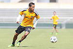 28 May 2013: Kenney Walker. The Los Angeles Galaxy held a training session on Field 3 at WakeMed Soccer Park in Cary, NC the day before playing in a 2013 Lamar Hunt U.S. Open Cup third round game.