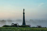 Ohio Monument, Cemetery Hill, Gettysburg National Military Park, Pennsylvania, USA