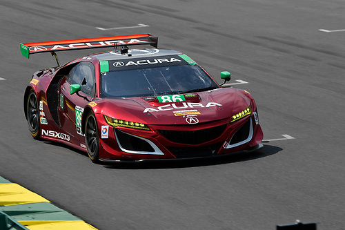 IMSA WeatherTech SportsCar Championship<br /> Michelin GT Challenge at VIR<br /> Virginia International Raceway, Alton, VA USA<br /> Friday 25 August 2017<br /> 86, Acura, Acura NSX, GTD, Oswaldo Negri Jr., Jeff Segal<br /> World Copyright: Richard Dole<br /> LAT Images<br /> ref: Digital Image RD_VIR_17_354