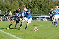 VOETBAL: HEERENVEEN: 05-10-2013, Sportpark Skoatterwâld, Damesvoetbal VV Heerenveen - VIOD, uitslag 4-0, ©foto Martin de Jong