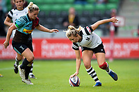 Elinor Snowsill of Bristol Bears Women scores a try. Tyrrell's Premier 15s match, between Harlequins Ladies and Bristol Bears Women on September 15, 2018 at the Twickenham Stoop in London, England. Photo by: Patrick Khachfe / Onside Images