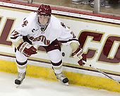 Patch Alber (BC - 27) - The Boston College Eagles defeated the visiting University of Toronto Varsity Blues 8-0 in an exhibition game on Sunday afternoon, October 3, 2010, at Conte Forum in Chestnut Hill, MA.