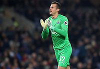 Newcastle United's Martin Dubravka<br /> <br /> Photographer Rachel Holborn/CameraSport<br /> <br /> The Premier League - Burnley v Newcastle United - Monday 26th November 2018 - Turf Moor - Burnley<br /> <br /> World Copyright &copy; 2018 CameraSport. All rights reserved. 43 Linden Ave. Countesthorpe. Leicester. England. LE8 5PG - Tel: +44 (0) 116 277 4147 - admin@camerasport.com - www.camerasport.com