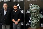 Antonio Banderas in the pass conference for his prize Goya de Honor 2015.<br /> Academia de cine. Madrid. Spain. 24/10/2014.