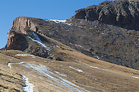 The trail up Uncompahgre Peak