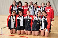 Wellington Secondary Schools Junior Volleyball Tournament Sacred Heart Girls at ASB Sports Center, Wellington, New Zealand on Saturday 10th November 2012<br /> Photo by Masanori Udagawa<br /> www.photowellington.photoshelter.com