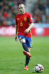 Spain's Andres Iniesta during FIFA World Cup 2018 Qualifying Round match. March 24,2017.(ALTERPHOTOS/Acero)