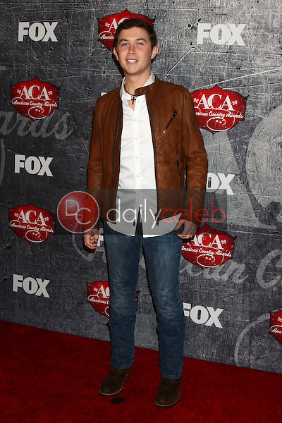 LOS ANGELES - DEC 10:  Scotty McCreery arrives to the American Country Awards 2012 at Mandalay Bay Resort and Casino on December 10, 2012 in Las Vegas, NV